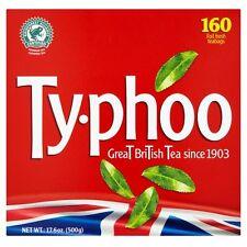 Typhoo 160 bustine di tè 500g-venduta in tutto il mondo dal Regno Unito