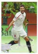 2015 Topps UEFA Champions League Showcase Green Parallel /99 #97 Vicente Iborra