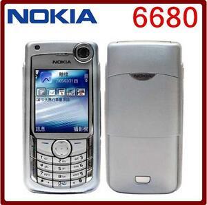 Unlocked Nokia 6680 3G 1.3MP Camera Bluetooth MP3 MP4 Player Cell Phone