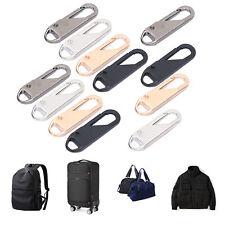 2x Zinc Alloy #20 Zipper Puller Slider Replacement for Jacket Backpack Bag