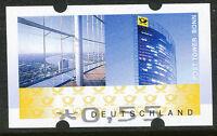 BRD Automatenmarke Post Tower Bonn € 0,55 postfr. ABART: Fehldruck des Wertes