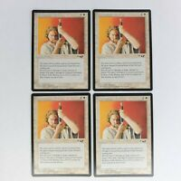 Scars of the Veteran x4 Alliances LP/NM White Instant Magic the Gathering MTG