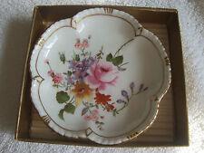 Royal Crown Derby Petal Tudor Rose Tray Derby 'Posie' A228. 11cm(4 3/8 inch)Diam
