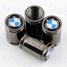 Titanium Auto Wheel Tire Tyre Valve Cap Dust Air Cover FOR BMW Accessories Parts