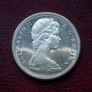 Canada 1967 silver dollar