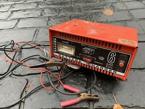 Classic Kit Car Van Garage Workshop Clearance Absaar 12V Battery Charger 6 Amp