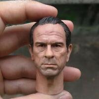 "Delicate Painting Hot 1/6 Scale Men in Black Tommy Lee Jones Head Sculpt Fit 12"""