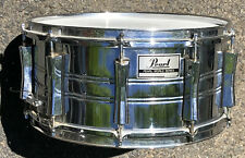 Pearl WORLD SERIES Chrome 14 x 6.5 Snare Drum