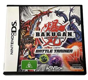 Bakugan Battle Brawlers Battle Trainer Nintendo DS 2DS 3DS Game