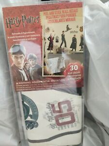 HARRY POTTER 30 Peel & Stick Wall Decals Ron Hermoine Kids Room Stickers Decor