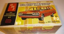 AMT 1964 CHEVELLE STATION WAGON ANNUAL 1/25 Model Car Mountain VINTAGE 8744