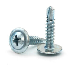 #8 Self Drilling Screws - Phillips Modified Truss Head Zinc Plated Steel -Select