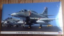 Hasegawa 1:48 A-4M Skyhawk 'VMA-311 Tomcats'  Model Kit #09710 New Sealed