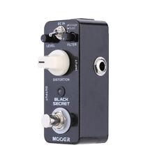 Mooer Black Secret Micro Mini Distortion Electric Guitar Effect Pedal TrueBypass