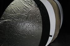 walimex 5in1 Faltreflektor Set Durchmesser 107cm  – Multi Studio Reflektor