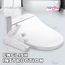NOVITA BD-N530AS (Small Size) Smart Digital Bidet Seat Power Saving Dryer Heater
