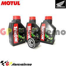 TAGLIANDO OLIO + FILTRO MOTUL 5100 10W40 HONDA 650 NT HAWK GT 1990