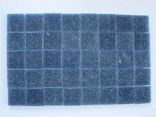 """Loose 3/4"""" (2 cms) Glass Mosaic Tiles - 40 pieces - """"Umbra"""""""