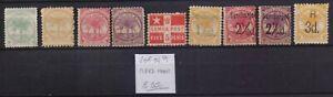 ! Samoa 1887-1900. Lot Of 9   Stamp. YT#. €55.00!