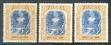 Jamaica King George 5th 1921-9 Pictorials 3 shades 5sh mint (2018/10/24#04)