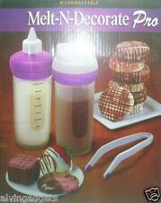 Microwaveable Melt & Decorate Pro Decorating Pen Pastry Cake Set