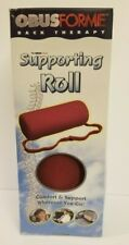 ObusForme Lightweight Portable Back Lumbar Cervical Supporting Roll Pillow