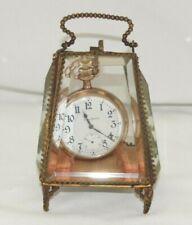 New listing Victorian French Jewel Casket Dresser Box Pocket Watch Holder Stand Antique