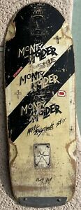 Old School Vintage Schmitt Stix Monty Nolder Skateboard Rare Hosoi Santa Cruz
