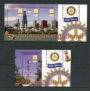 U513  Maldives  2005  Rotary  sheets   MNH