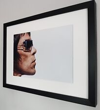 More details for ian brown stone roses luxury framed photo certificate new rare oasis