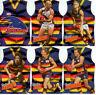 2010 Select AFL Prestige Holofoil Jersey Die Cut Card Team Set (12)-Adelaide