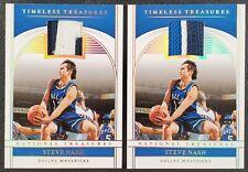 2019-20 National Treasures Steve Nash Timeless Treasures Patch /25 LOT! 🔥 MF