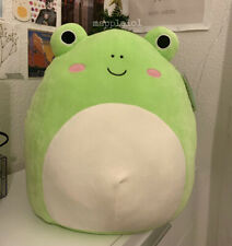 "New ListingNwt Wendy The Frog Squishmallow 16"" Large Hard To Find Rare"