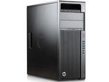 HP Z440 Workstation PC Intel Xeon Quad CPU @3,7GHz 128GB SSD + 3TB HDD