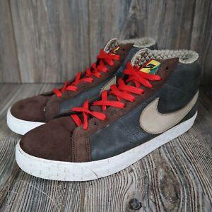 Nike Blazer SB Elite RASTA ANTS 420 Brown Grant Taylor Sz 10.5 334106-321