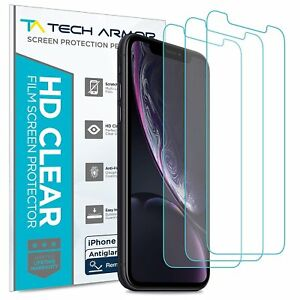 Tech Armor Matte Anti-Glare Film Screen Protector for Apple iPhone 11 [3-Pack]