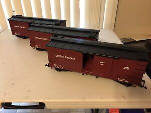 LGB 4067 WC Uintah Railway Wood-sided Boxcar - Limited Edition