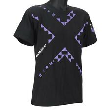 Oakley GRIDLOCK T-Shirt Size M Medium Black Purple Mens Slim Fit Tee Shirt