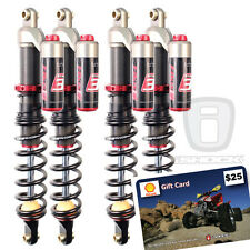 Elka Stage 3 Front and Rear Shock Package Sale SUZUKI KINGQUAD 700 750 up to '15