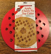 NORPRO Apple Cherry Pie Top Crust Cutter Mold New In Package Recipe Ships Free