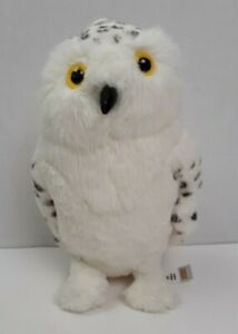 """QMx Harry Potter Hedwig The Snowy Owl Stuffed Plush Toy 9"""""""