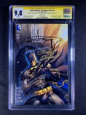 Dark Knight III: The Master Race #3 CGC 9.8 SS (2016) - Lee Variant - Signed 4X