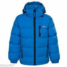 Trespass Tuff Boys Puffa Jacket Padded School Coat Childs Childrens 2-13 Years