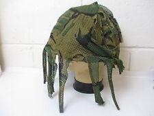 British Army Scrim Helmet Cover Camouflage MK 6 DPM Sniper Camo Large Airsoft
