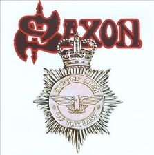 SAXON, Strong Arm of the Law, Excellent Import, Original recording remas