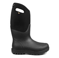 BOGS - Women's Neo-Classic Tall Yulex Farm Rain Winter Boots Black - 8 NIB