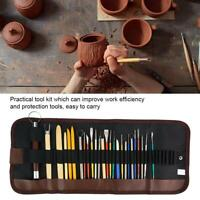 Carving Pottery Tools Clay Sculpting Set Wax Shapers Polymer Modeling Ceramic
