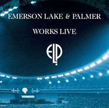 EMERSON, LAKE & PALMER ORCHESTRAL WORKS LIVE DVD - HARD TO FIND - WITH BONUS DVD