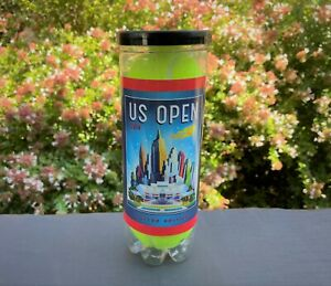 New 2014 US OPEN can of Tennis Balls Official WILSON Arthur Ashe Stadium NYC
