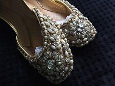 GORGEOUS PAKISTANI INDIAN WEDDING SHOES/ KUSSAY/LEATHER/ KUNDHAN/ PEARLS/ KAM/